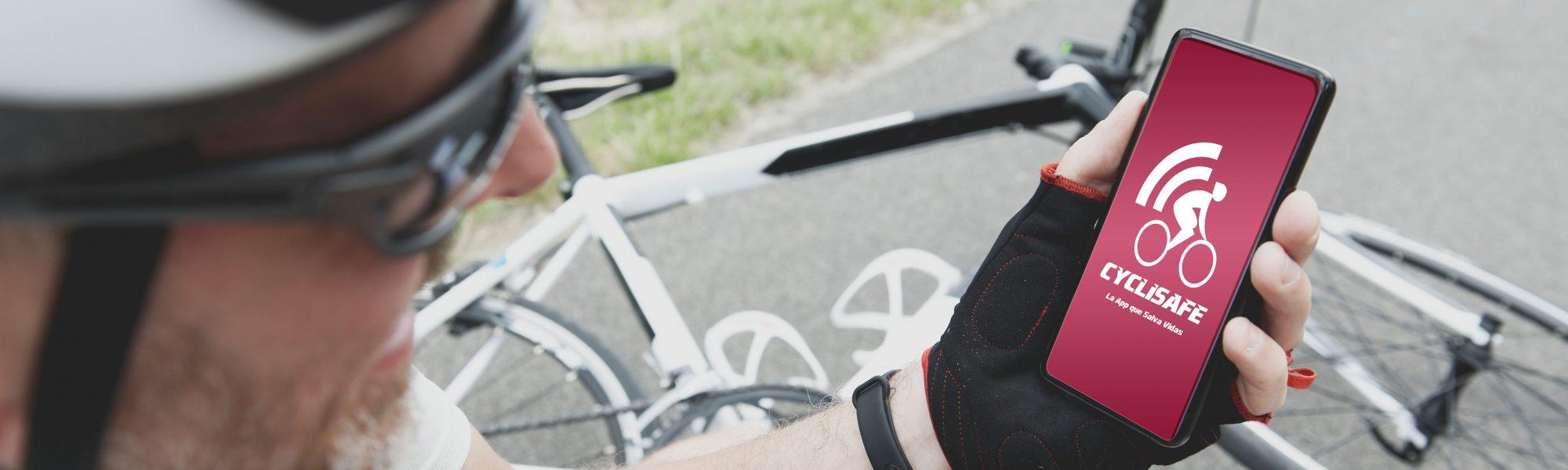 Ciclista con telefono2